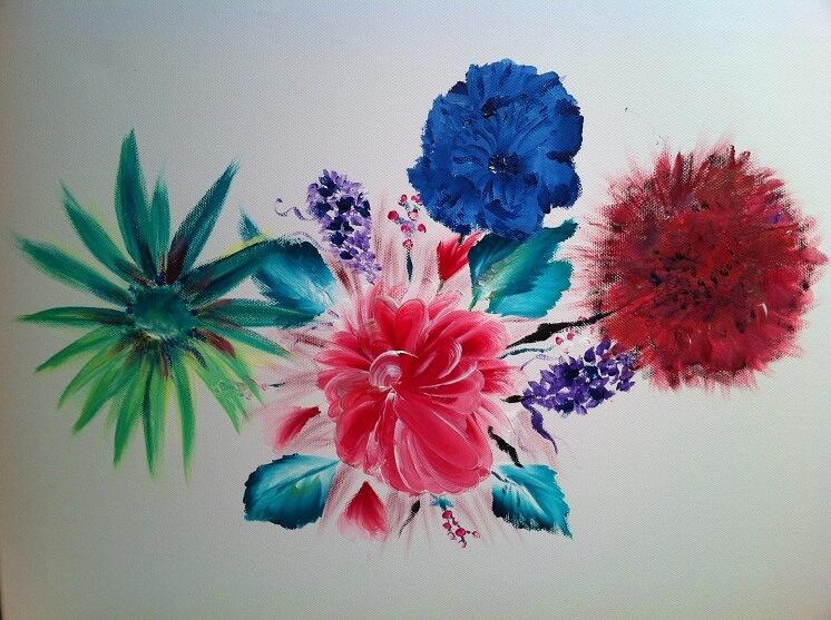картина цветов