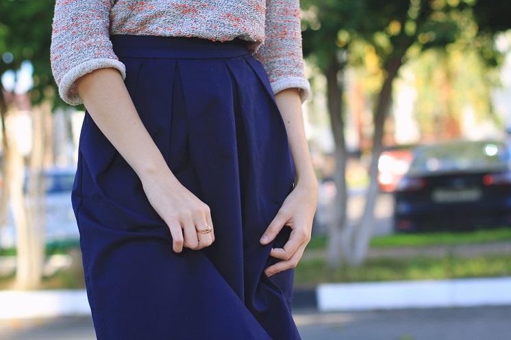 С чем носить юбку зимой: практические советы