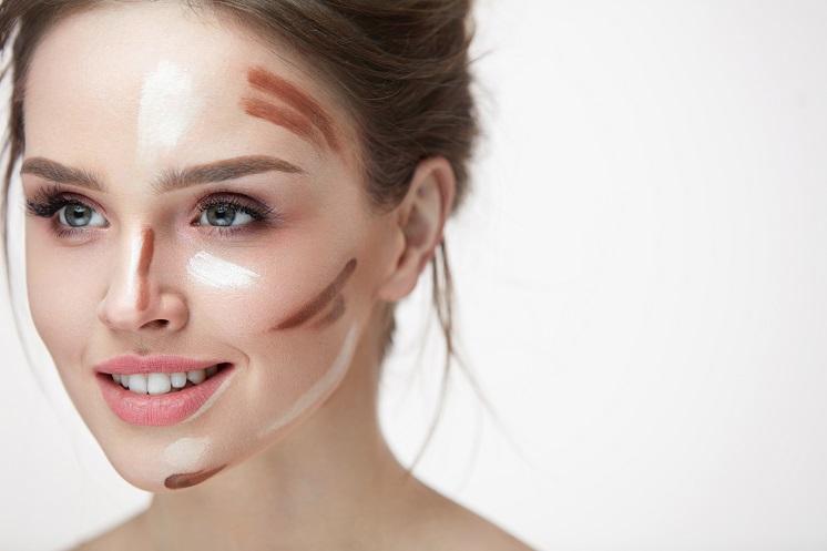 как с помощью макияжа и контуринга уменьшить нос