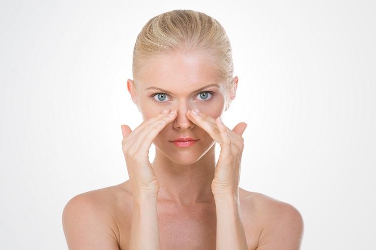 как визуально уменьшить нос без макияжа