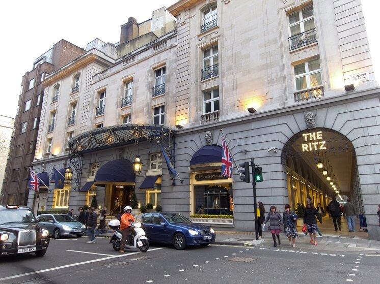отель ритц в котором умерла Маргарет Тэтчер